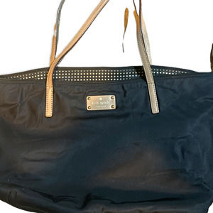 KATE SPADE Sophie Kennedy Park Large Nylon & Leather Zip Tote bag